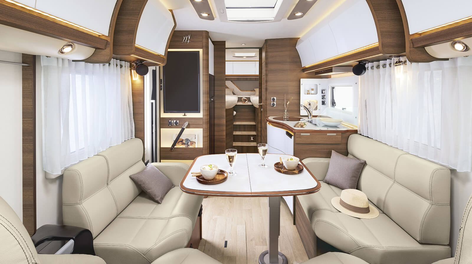 Interior photos RAPIDO Motorhome M66